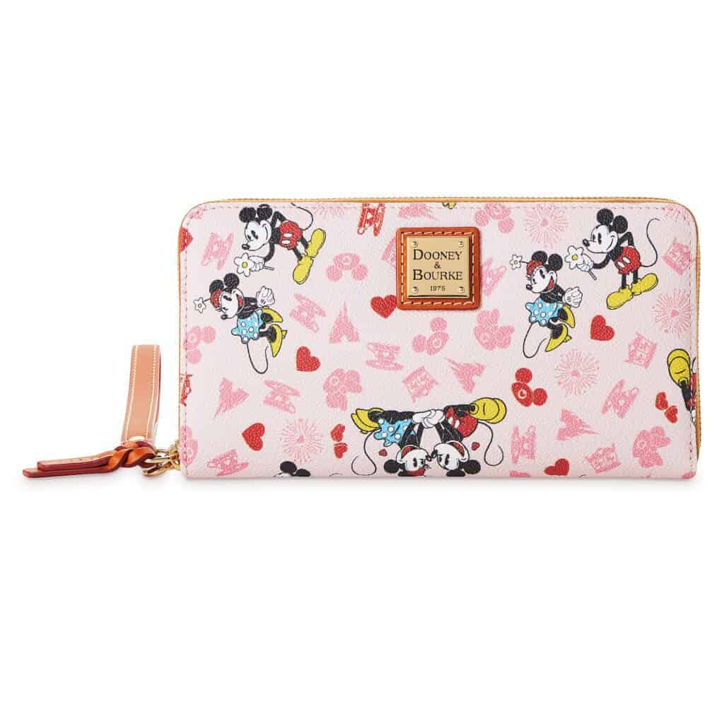 Mickey and Minnie Love Wallet by Dooney and Bourke