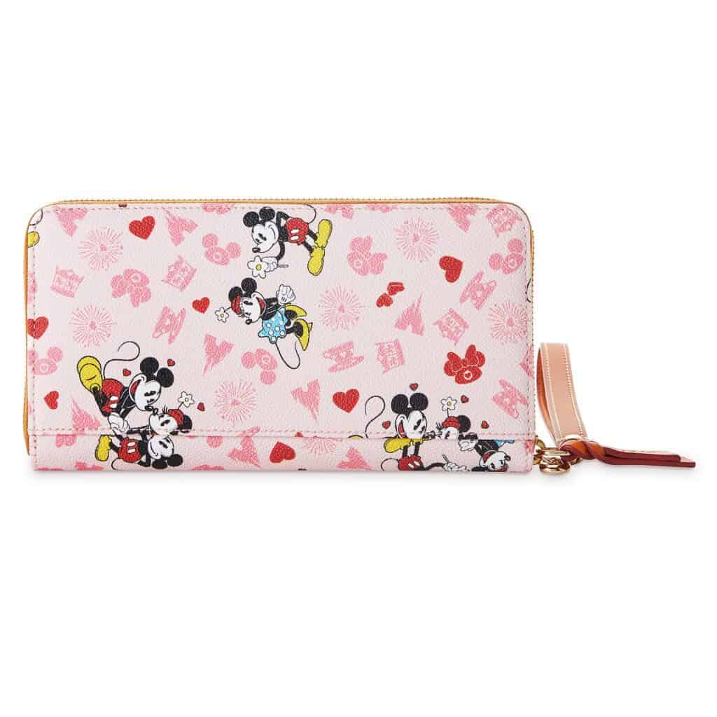 Mickey and Minnie Love Wallet (back) by Dooney & Bourke