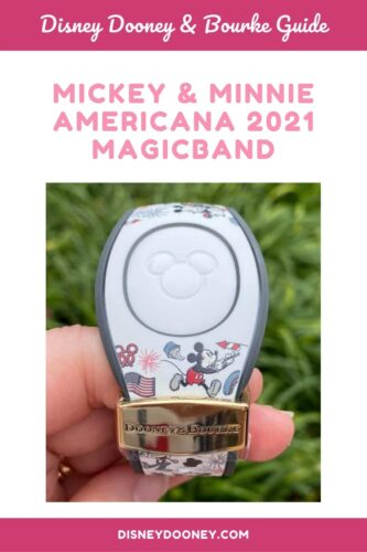 Pin me - Mickey & Minnie Americana MagicBand 2021