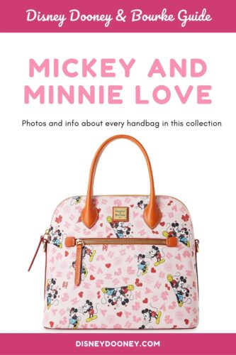 Pin me - Disney Dooney and Bourke Mickey and Minnie Love Collection