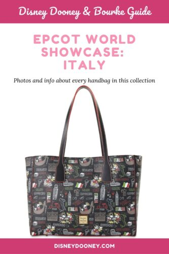 Pin me – Disney Dooney and Bourke Epcot World Showcase: Italy Collection