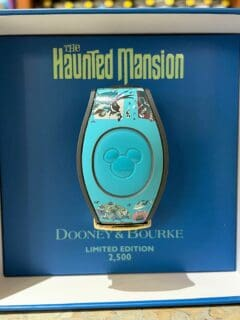 Haunted Mansion Dooney and Bourke MagicBand 2021