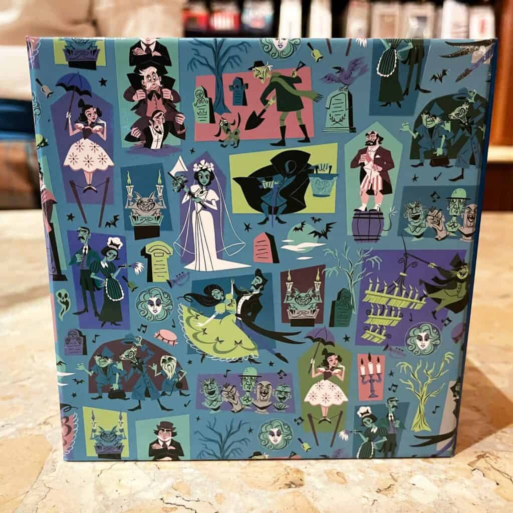 Haunted Mansion Dooney and Bourke MagicBand 2021 Box Lid