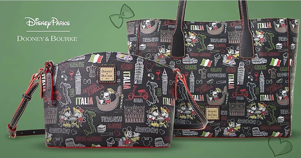 Epcot World Showcase: Italy Collection by Dooney & Bourke