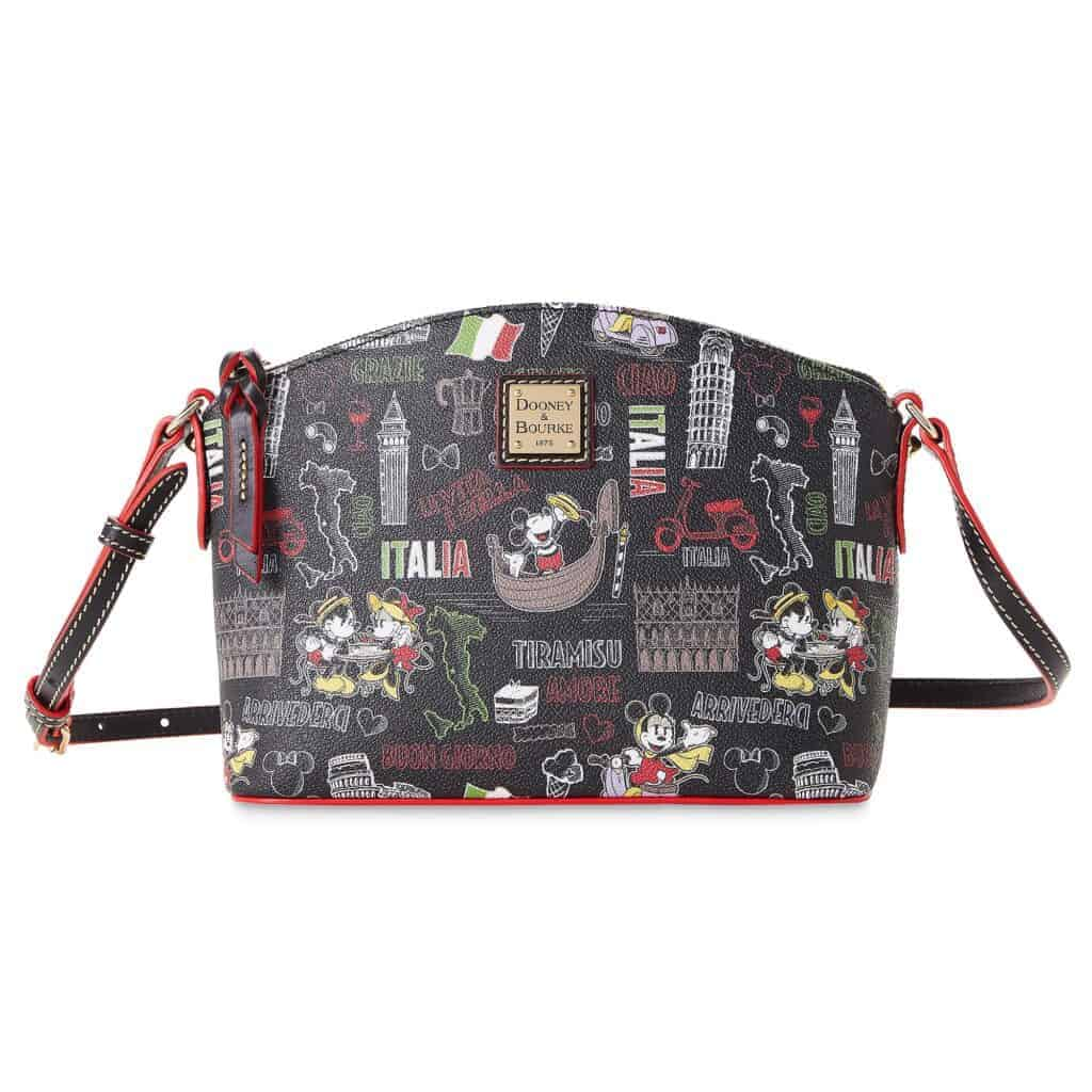 Mickey and Minnie Mouse Italia Crossobody Bag by Dooney and Bourke