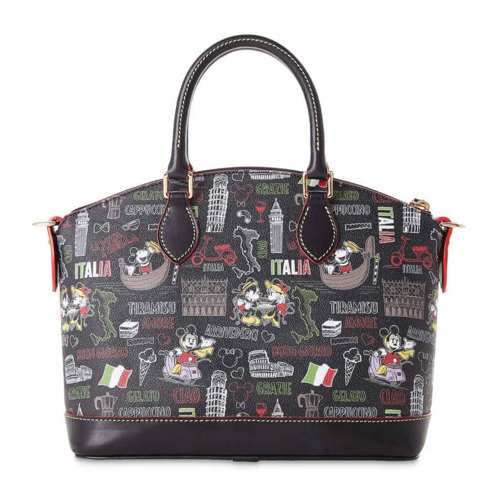 Mickey and Minnie Mouse Italia Satchel by Dooney & Bourke