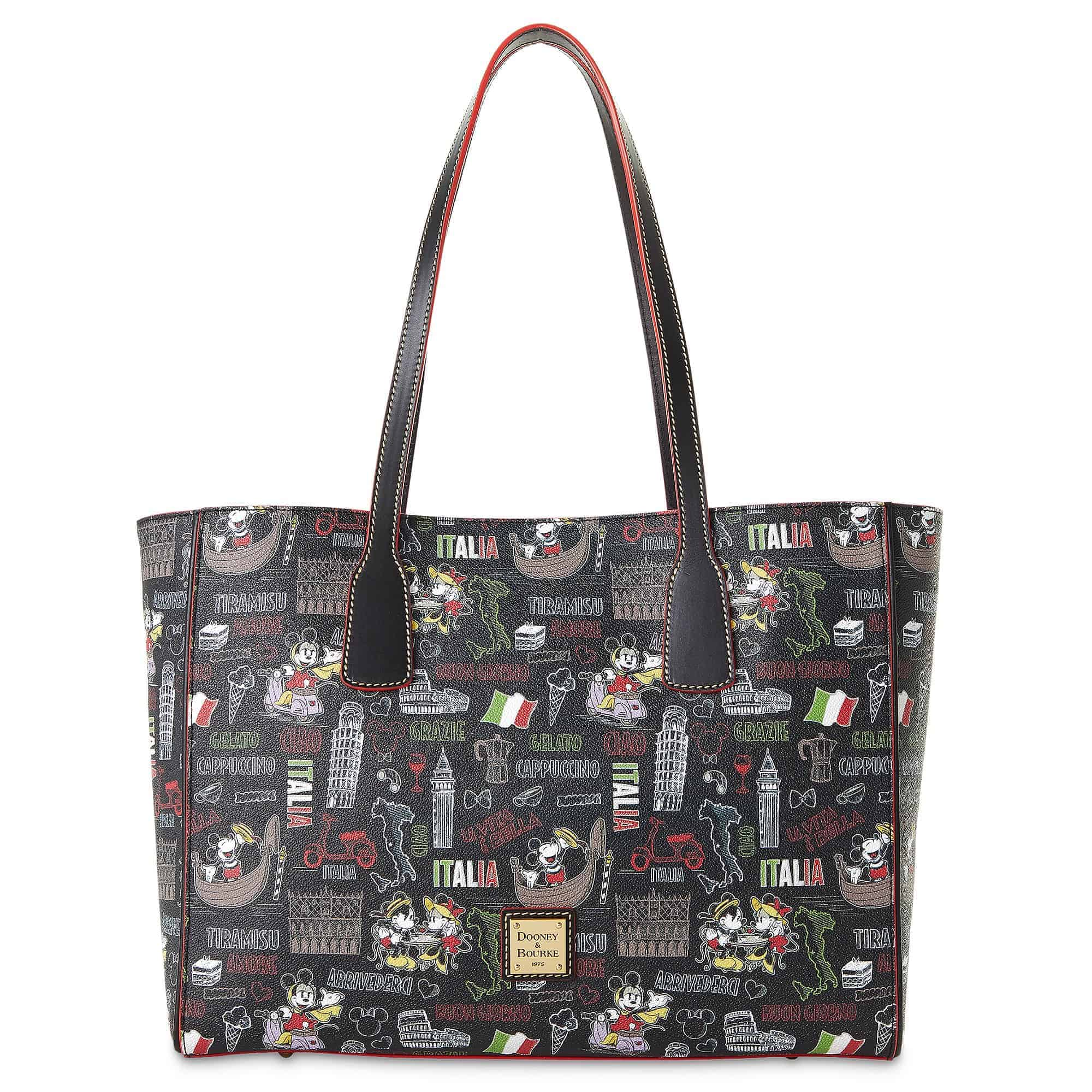 Mickey and Minnie Mouse Italia Tote by Dooney and Bourke
