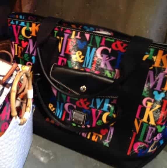 Mickey and Minnie Names Tote (2014)