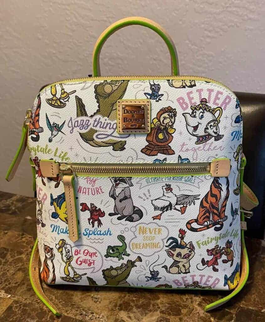 Disney Side Kicks Dooney and Bourke Backpack