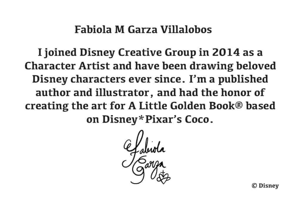 Fabiola Garza Bio Card