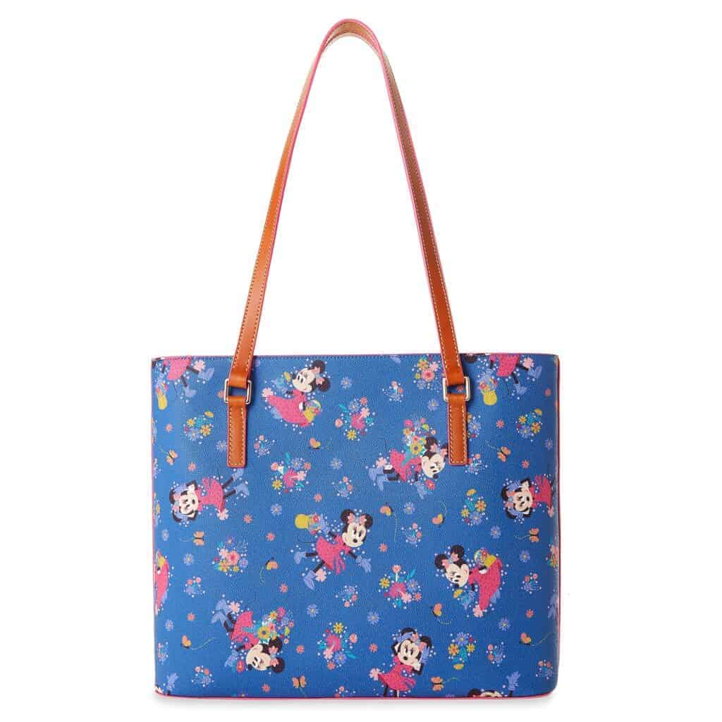 Flower and Garden Festival 2021 Shopper Tote (back) by Dooney and Bourke
