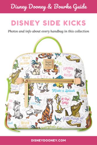Pin me - Disney Side Kicks Collection by Dooney and Bourke