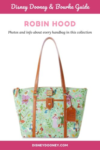 Pin me - Disney Dooney and Bourke Robin Hood Collection
