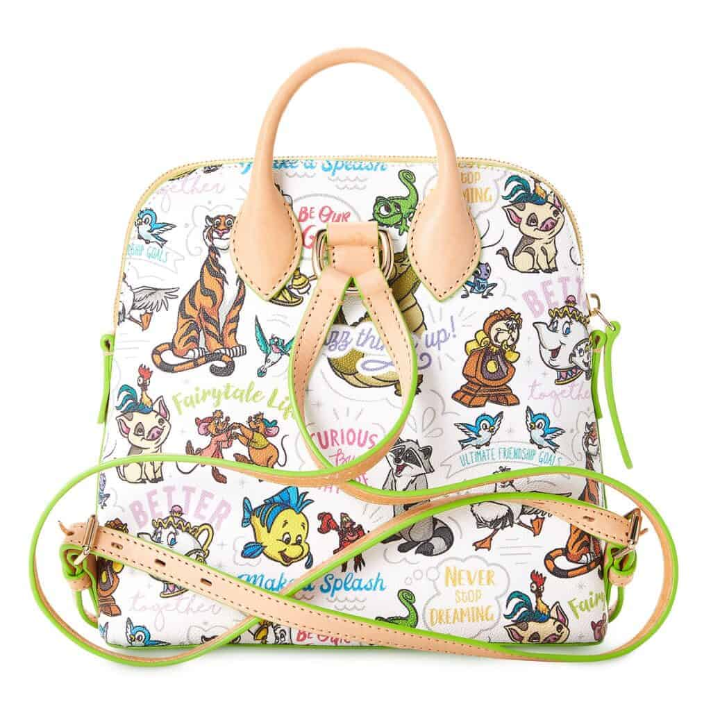 Disney Side Kicks Backpack (back) by Disney Dooney and Bourke