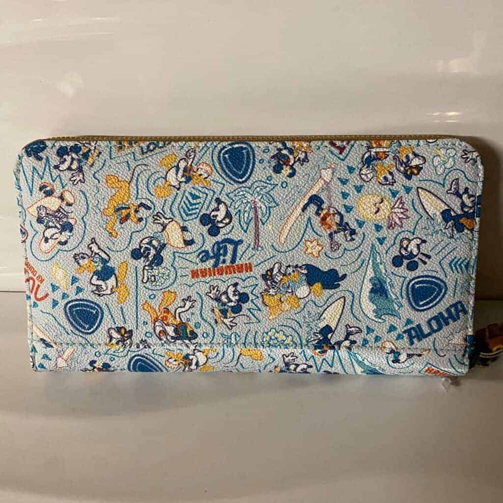 Aulani Character Experience 2021 Wallet (back) by Dooney & Bourke