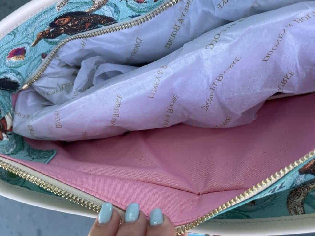 Disney Dooney & Bourke Moana Tote (fabric lining)