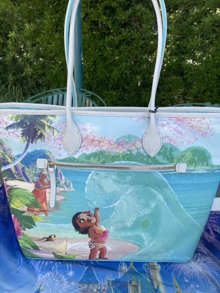 Disney Dooney & Bourke Moana Tote (back)