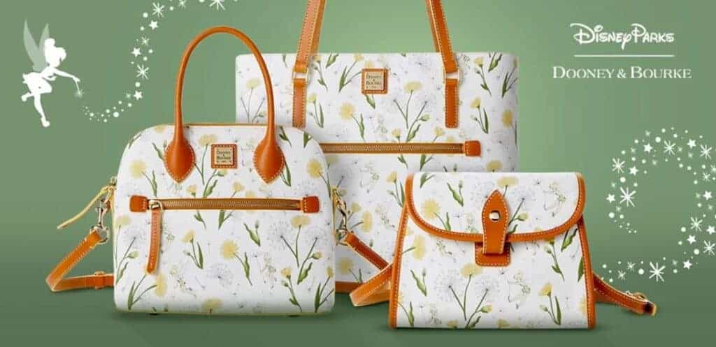 Tinker Bell 2021 Collection by Disney Dooney and Bourke