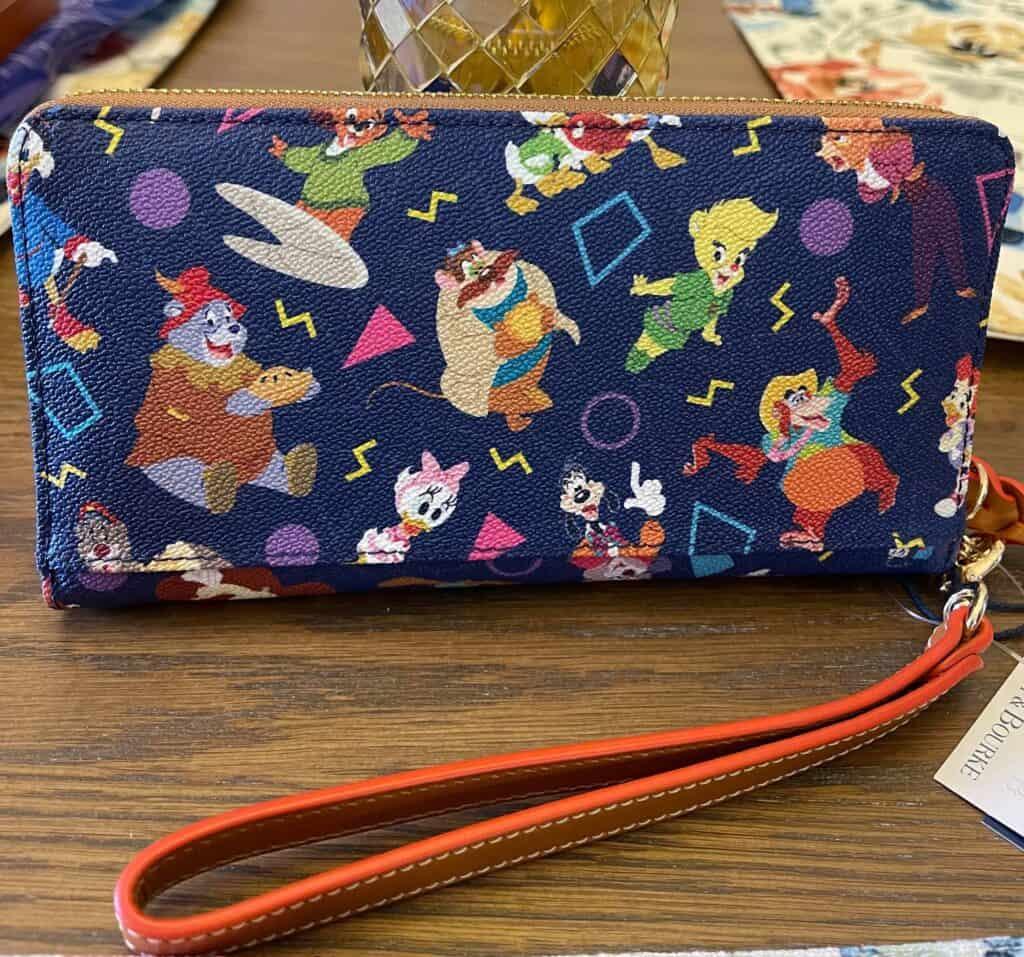 Disney Afternoon Wallet (back)