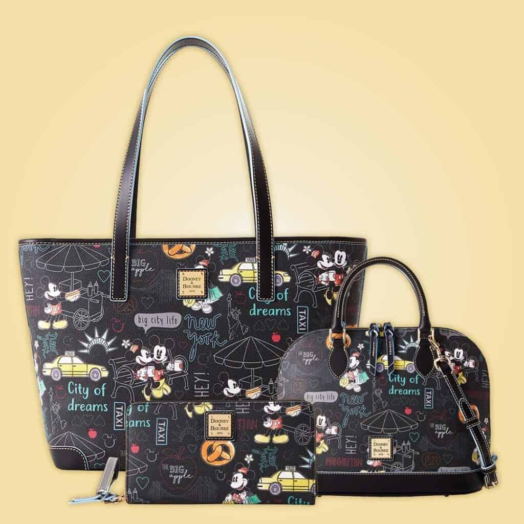 Mickey and Minnie New York City Collection by Dooney and Bourke