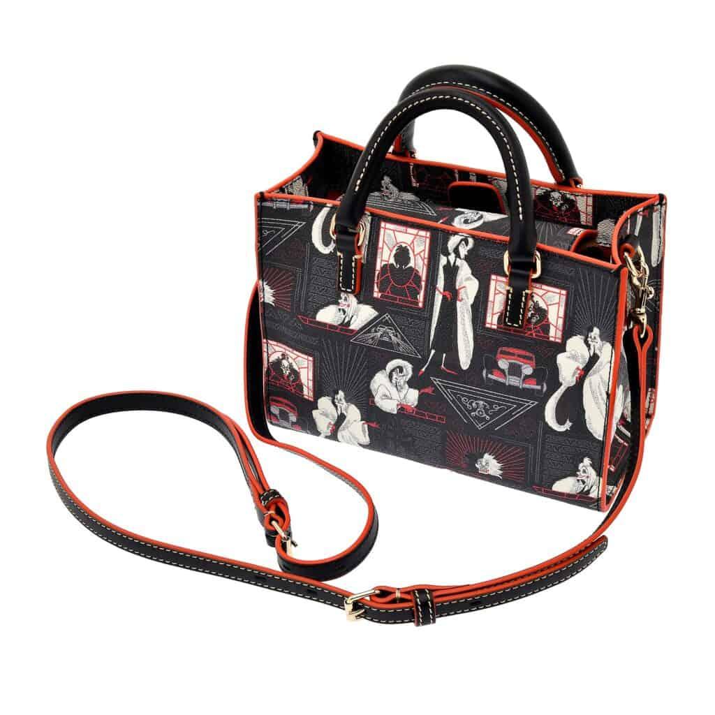 Cruella Shoulder Bag (back) by Dooney and Bourke