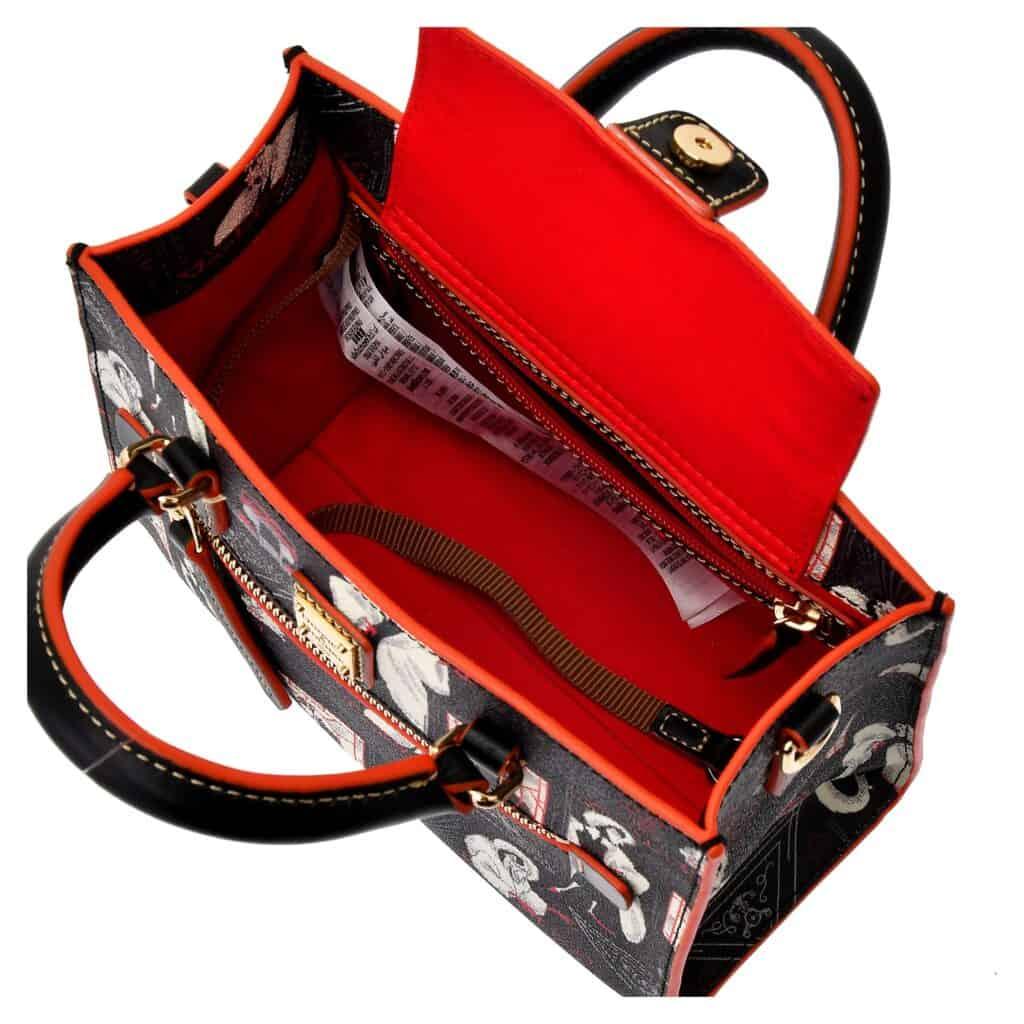 Cruella Shoulder Bag (interior) by Dooney and Bourke