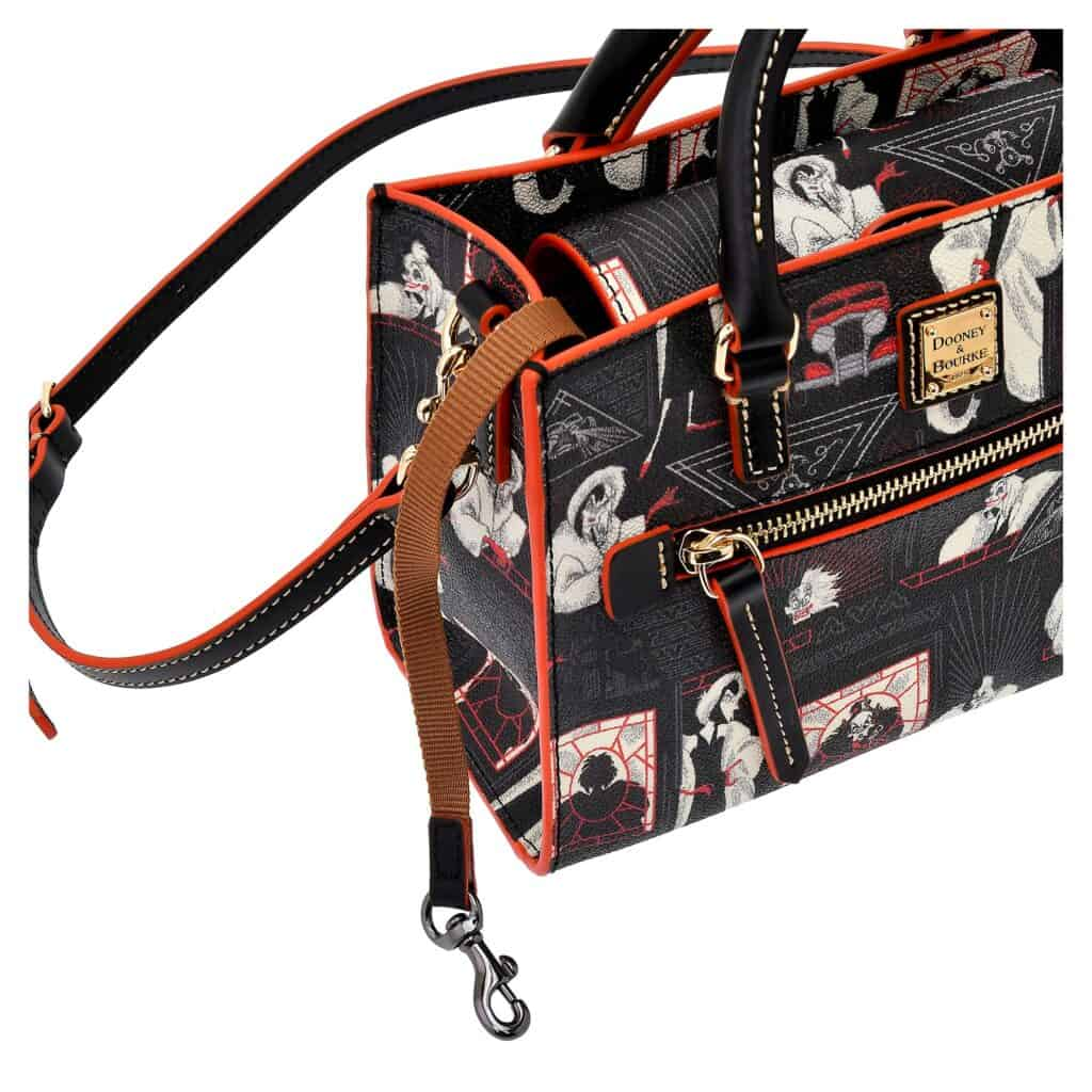 Cruella Shoulder Bag (keyhook) by Dooney and Bourke