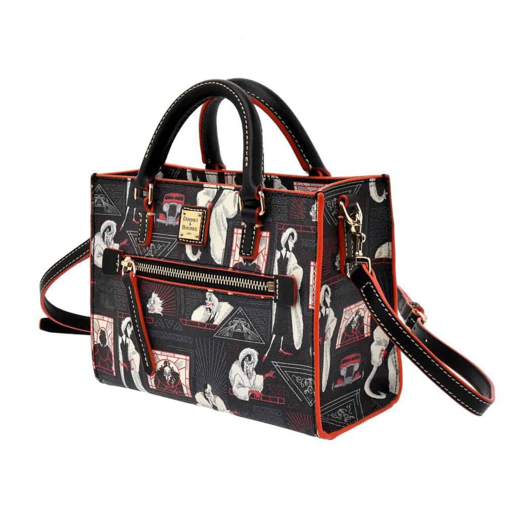 Cruella Shoulder Bag (side) by Dooney and Bourke