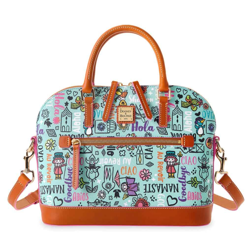 Disney It's a Small World 2021 Satchel by Dooney and Bourke