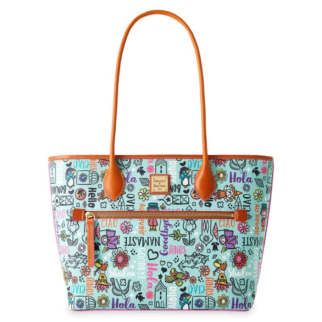 Disney It's a Small World 2021 Tote by Dooney and Bourke