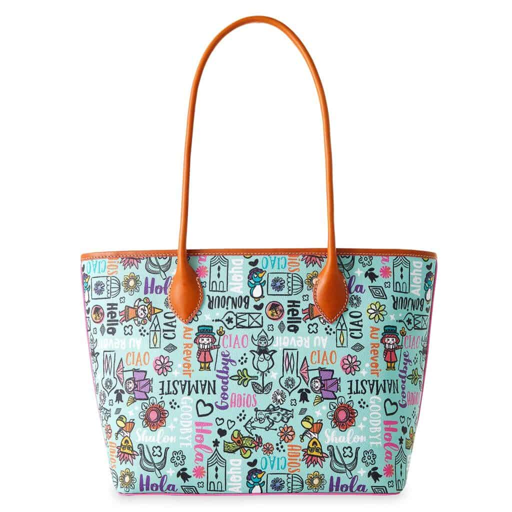 It's a Small World 2021 Tote (back) by Disney Dooney and Bourke