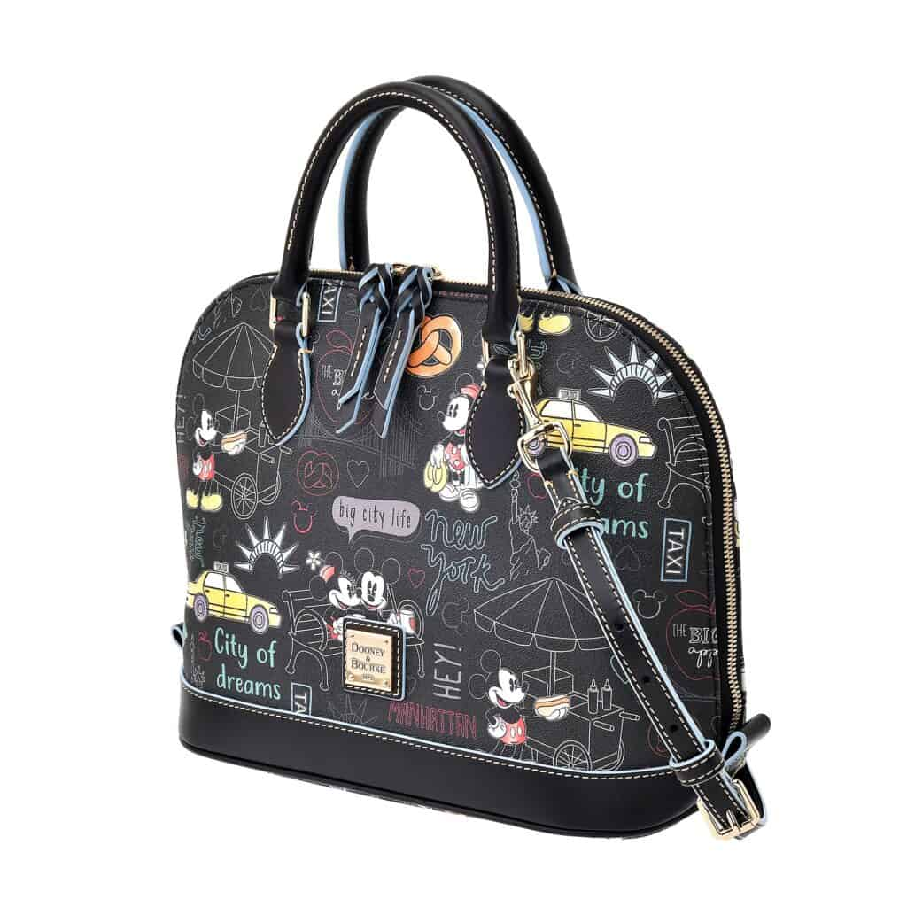 New York City Satchel (side) by Dooney and Bourke