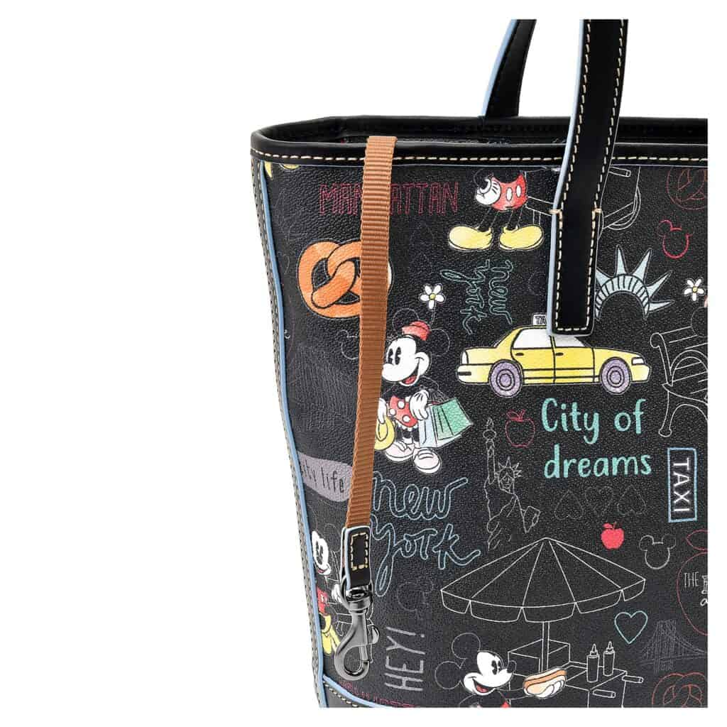 New York City Tote (close up) by Dooney & Bourke