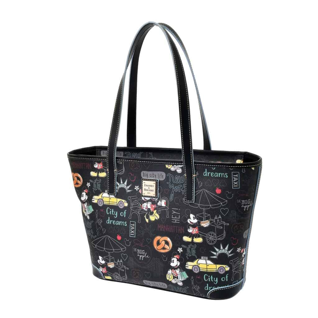 New York City Tote (side) by Dooney and Bourke