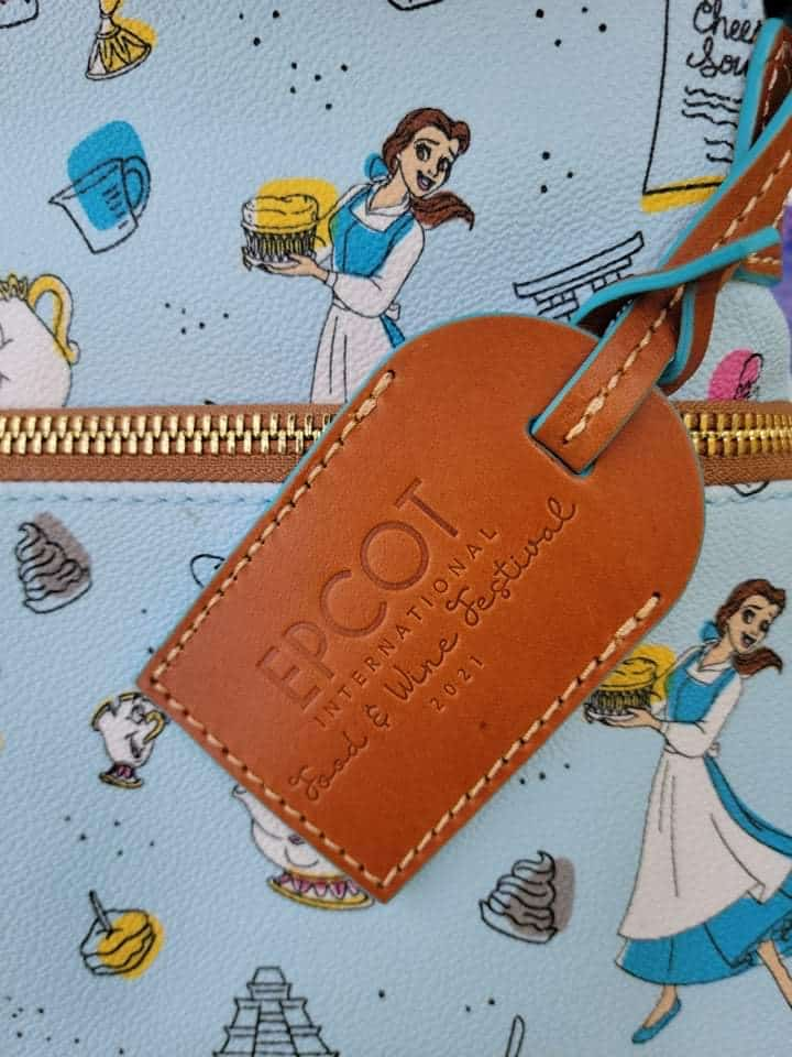 Food and Wine Festival 2021 Be Our Guest Hangtag by Disney Dooney and Bourke