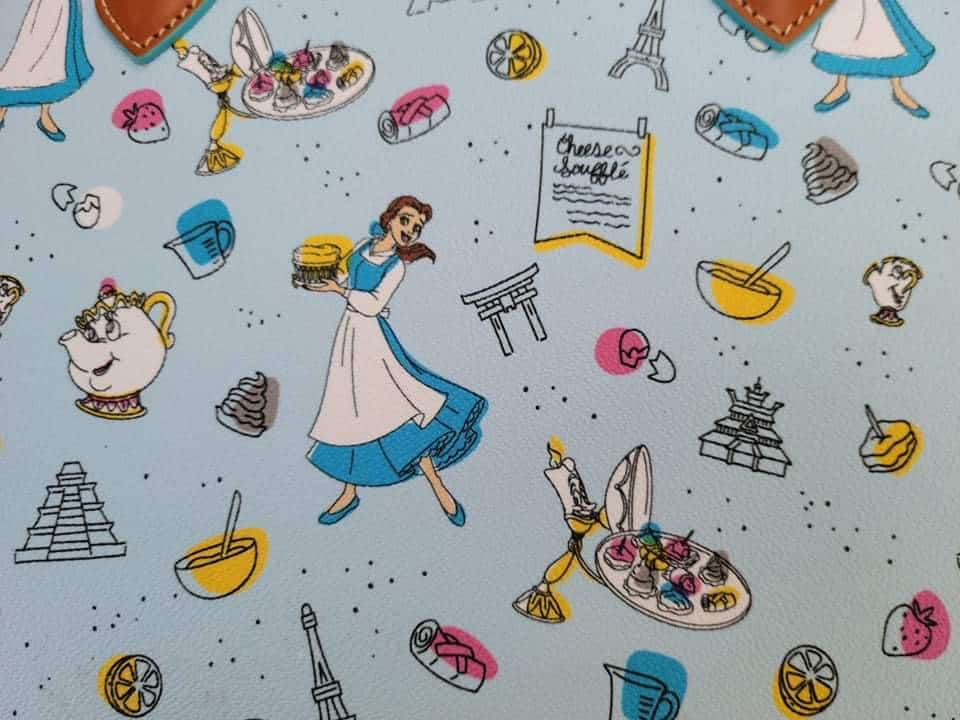 Food and Wine Festival 2021 Be Our Guest Close-Up of Print by Disney Dooney and Bourke