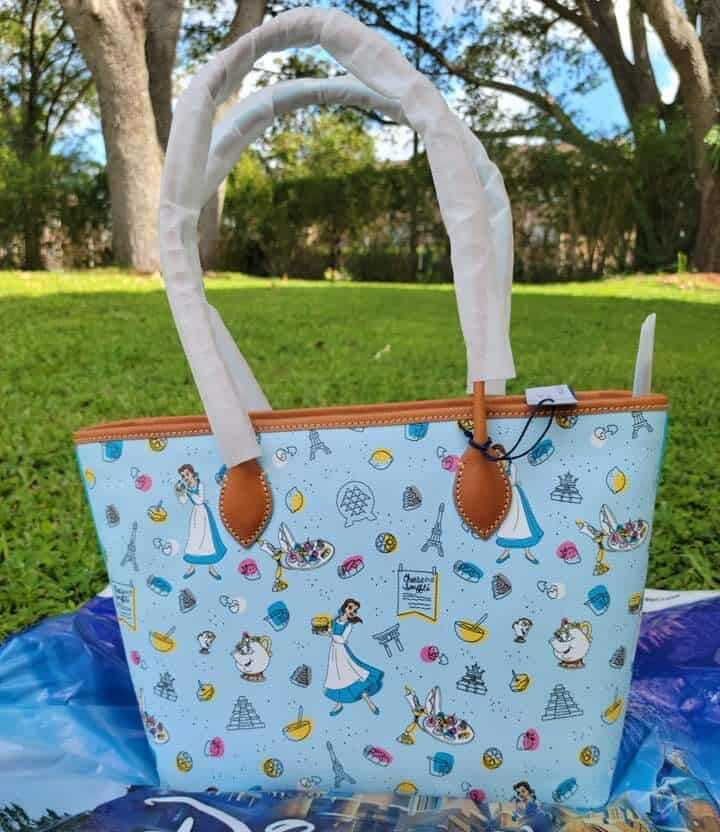 Food and Wine Festival 2021 Be Our Guest Crossbody Bag (back) by Disney Dooney and Bourke