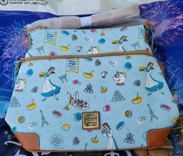 Food and Wine Festival 2021 Be Our Guest Crossbody Bag by Disney Dooney and Bourke