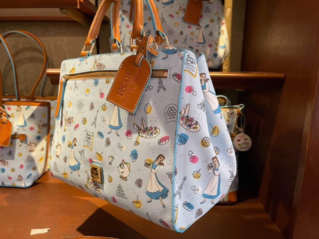 Food and Wine Festival 2021 Be Our Guest Satchel (side) by Dooney & Bourke