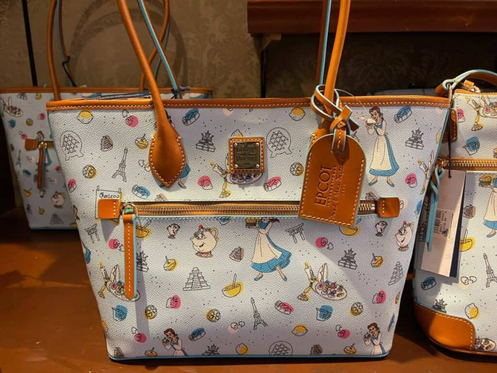 Food and Wine Festival 2021 Be Our Guest Tote by Dooney & Bourke