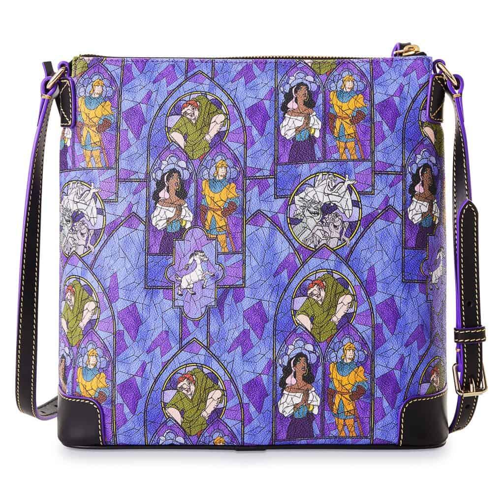 The Hunchback of Notre Dame Letter Carrier Bag (back) by Dooney & Bourke