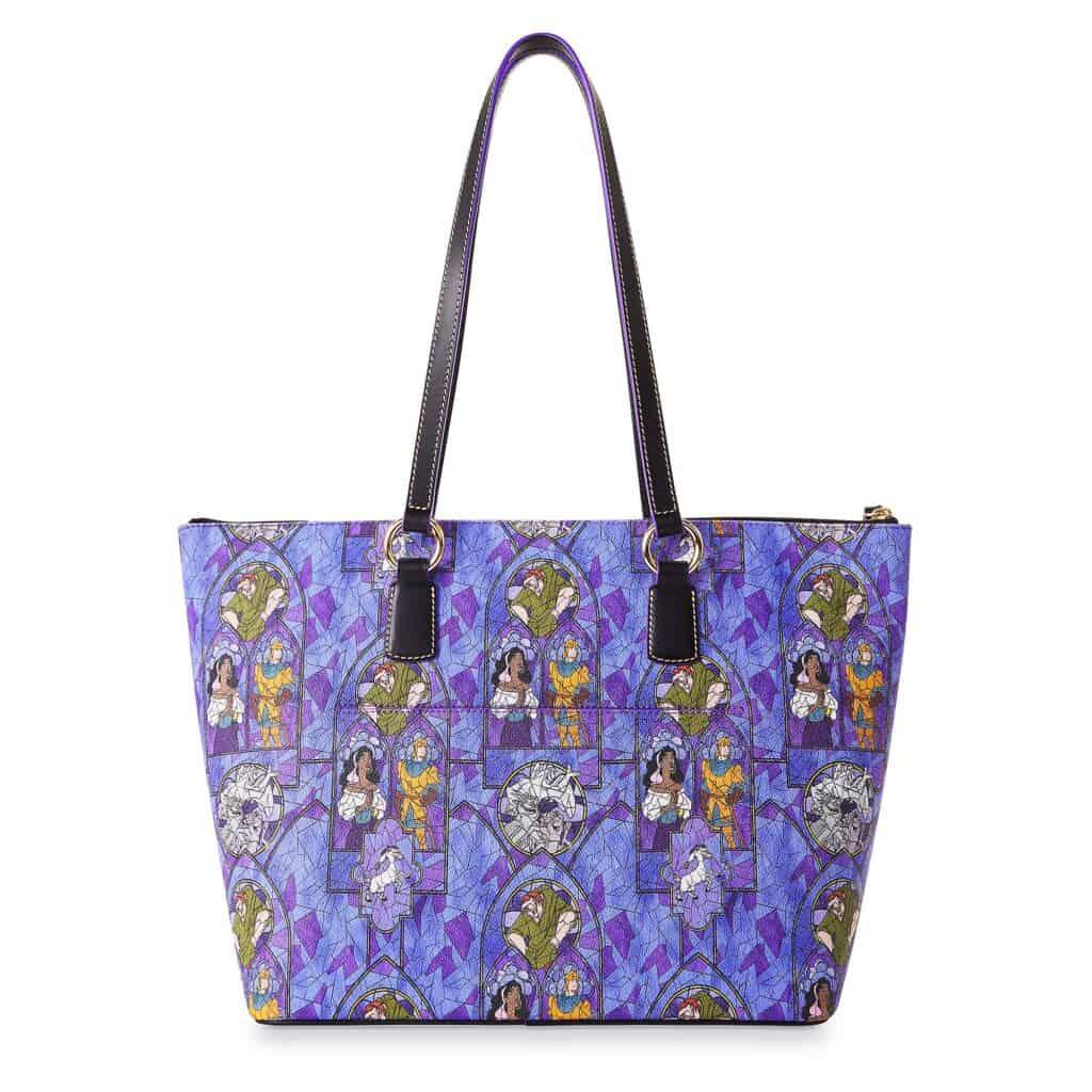 The Hunchback of Notre Dame Tote Bag (back) by Dooney & Bourke