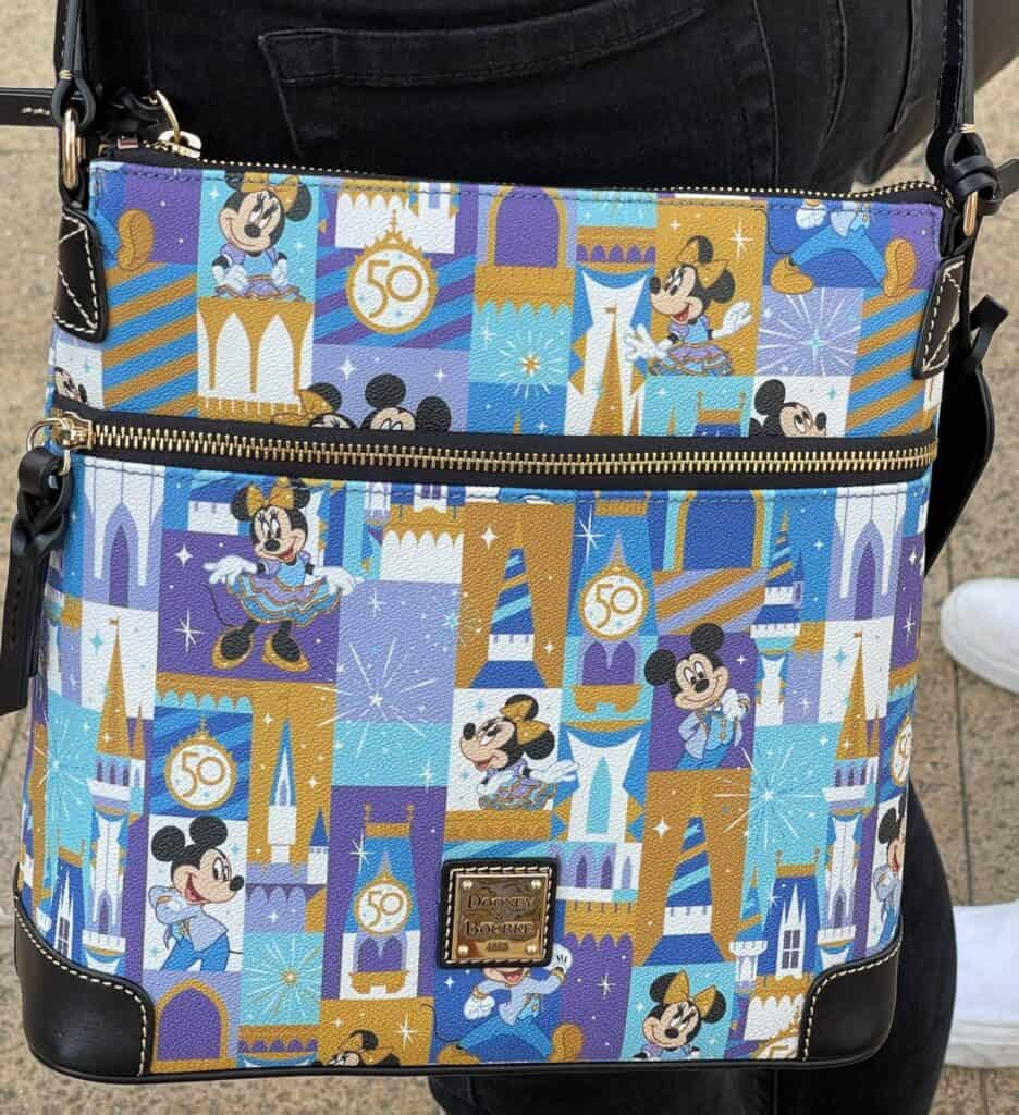 WDW 50th Anniversarey Letter Carrier by Dooney and Bourke
