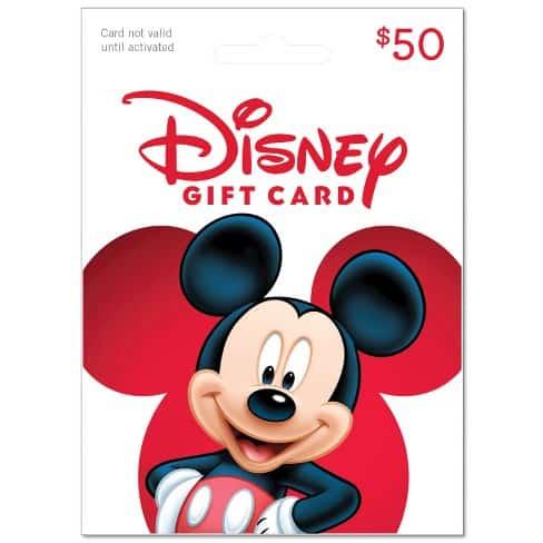 50 Disney Gift Card
