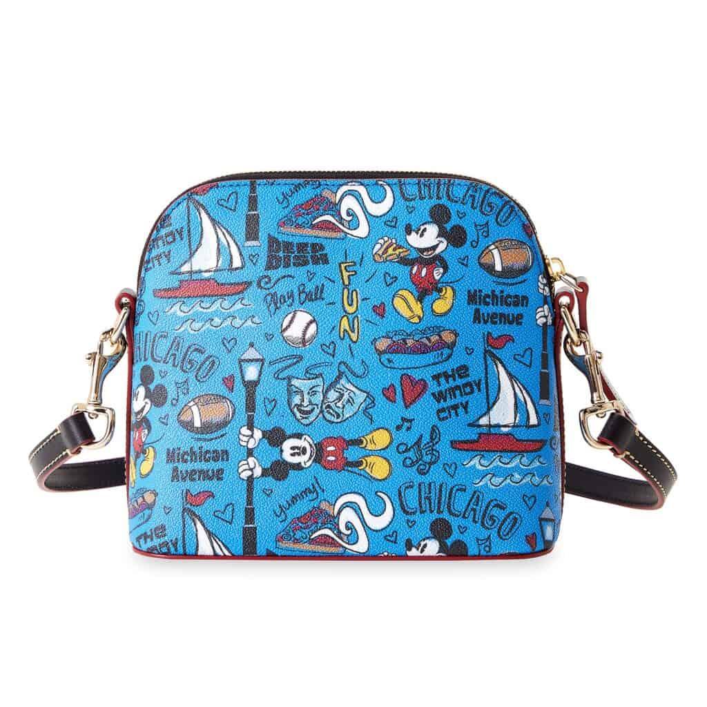 Mickey Mouse Chicago Dooney & Bourke Travel Satchel (back)