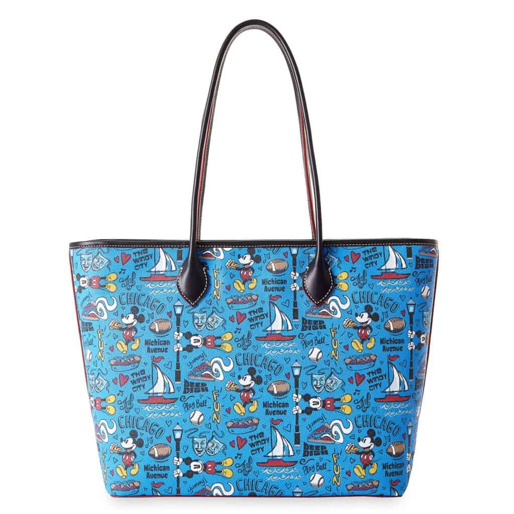 Mickey Chicago Travel Tote (back) by Disney Dooney and Bourke