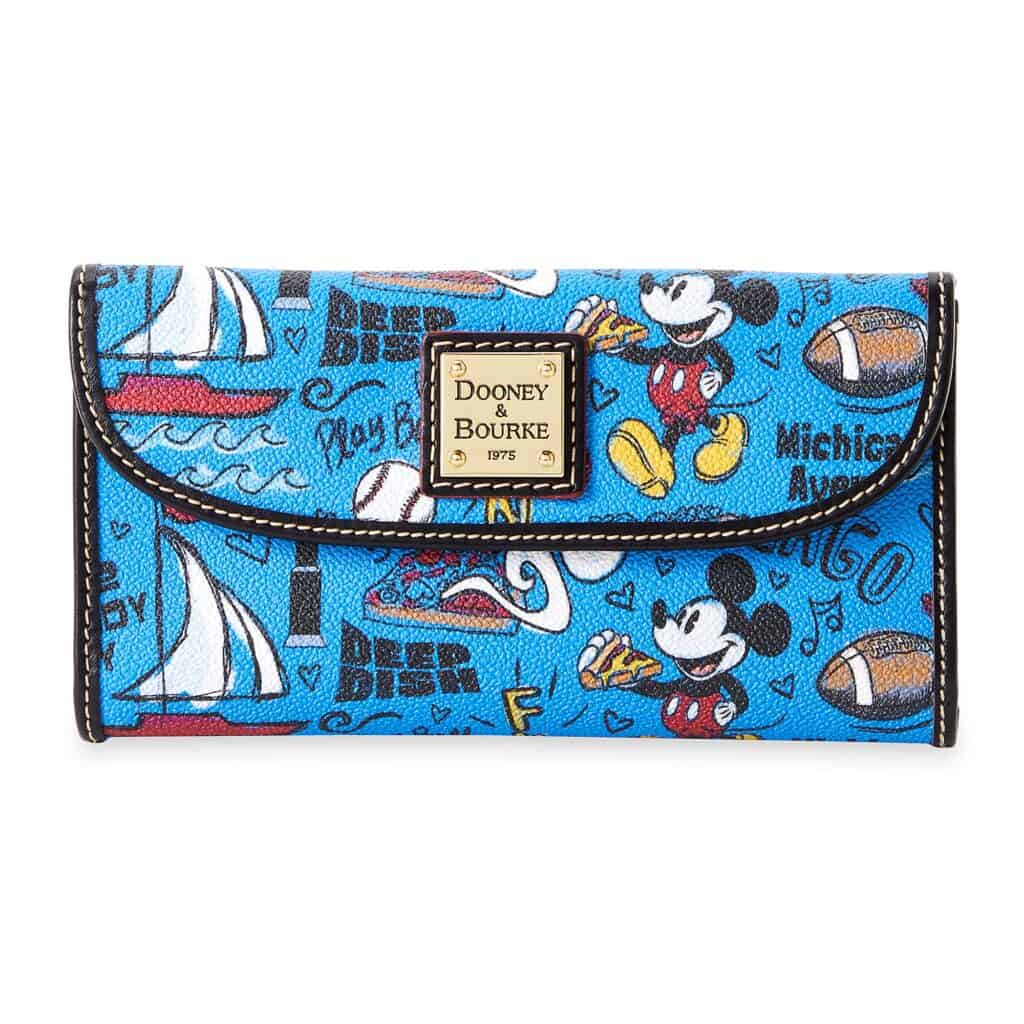 Mickey Mouse Chicago Wallet by Disney Dooney and Bourke