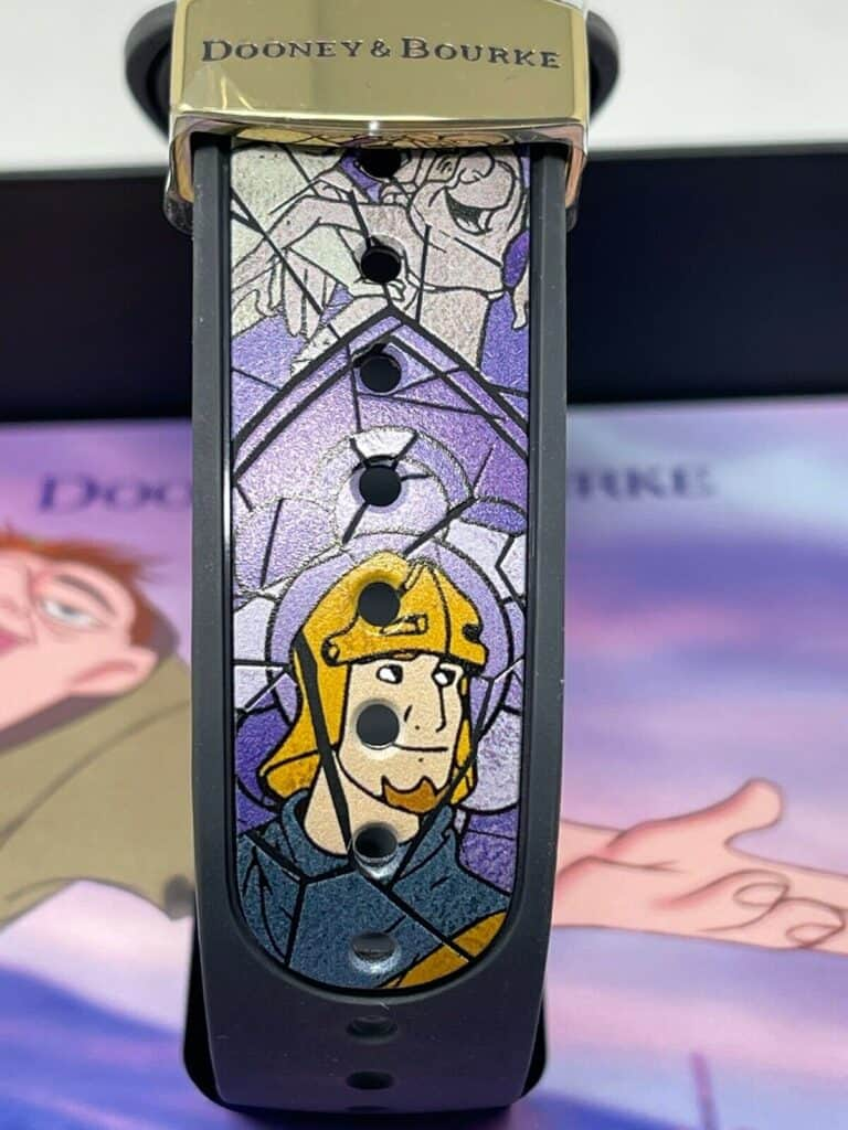 Hunchback of Notre Dame Magic Band (strap with Captain Phoebus)