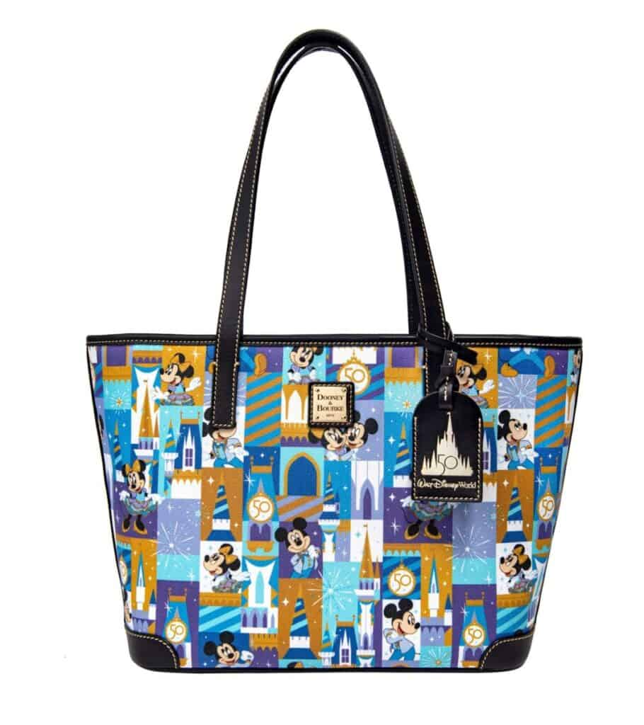 WDW 50th Anniversary Tote by Dooney and Bourke