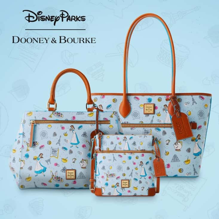 Epcot International Food & Wine Festival 2021 Be Our Guest Collection by Disney Dooney & Bourke